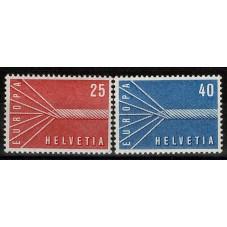 1957 SVIZZERA EUROPA CEPT...