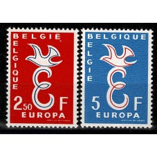 1958 BELGIO EUROPA CEPT...