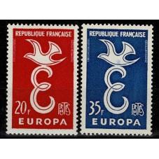 1958 FRANCIA EUROPA CEPT...