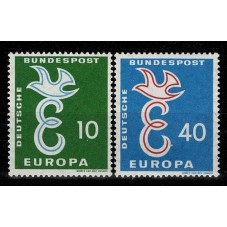 1958 GERMANIA EUROPA CEPT...