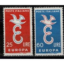 1958 ITALIA EUROPA CEPT...