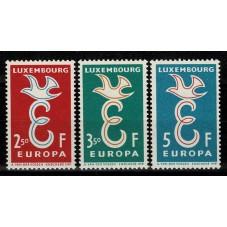 1958 LUSSEMBURGO EUROPA...