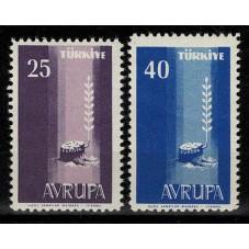 1958 TURCHIA EUROPA CEPT...