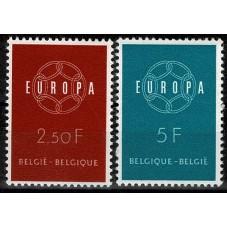 1959 BELGIO EUROPA CEPT...