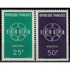 1959 FRANCIA EUROPA CEPT...