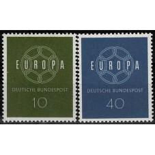 1959 GERMANIA EUROPA CEPT...