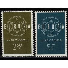 1959 LUSSEMBURGO EUROPA...
