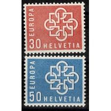 1959 SVIZZERA EUROPA CEPT...