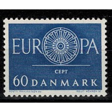 1960 DANIMARCA EUROPA CEPT...