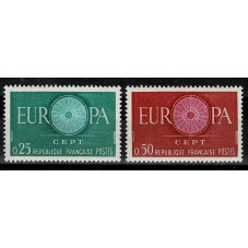1960 FRANCIA EUROPA CEPT...