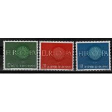 1960 GERMANIA EUROPA CEPT...