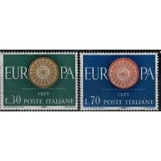 1960 ITALIA EUROPA CEPT...