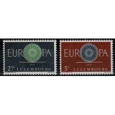 1960 LUSSEMBURGO EUROPA...