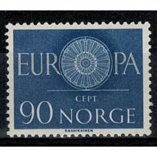 1960 NORVEGIA EUROPA CEPT...