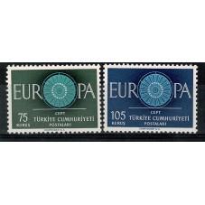 1960 TURCHIA EUROPA CEPT...