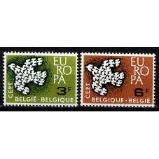 1961 BELGIO EUROPA CEPT 19...