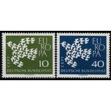 1961 GERMANIA EUROPA CEPT...
