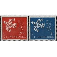 1961 LUSSEMBURGO EUROPA...