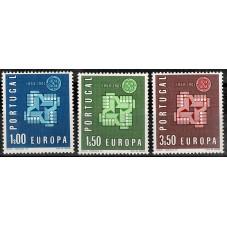 1961 PORTOGALLO EUROPA CEPT...