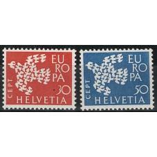 1961 SVIZZERA EUROPA CEPT...