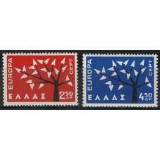 1962 GRECIA EUROPA CEPT...