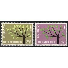 1962 LUSSEMBURGO EUROPA...