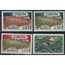 1962 MONACO EUROPA CEPT...