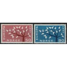 1962 NORVEGIA EUROPA CEPT...