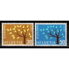 1962 SVIZZERA EUROPA CEPT...