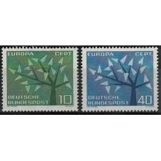 1962 GERMANIA EUROPA CEPT...