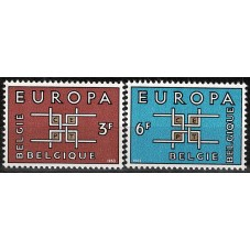 1963 BELGIO EUROPA CEPT...