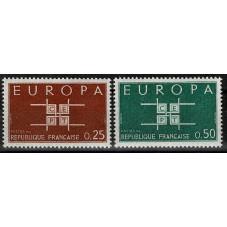 1963 FRANCIA EUROPA CEPT...