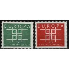 1963 GERMANIA EUROPA CEPT...