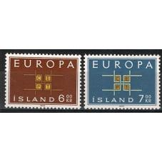 1963 ISLANDA EUROPA CEPT...