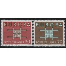 1963 ITALIA EUROPA CEPT...