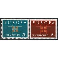 1963 LUSSEMBURGO EUROPA...