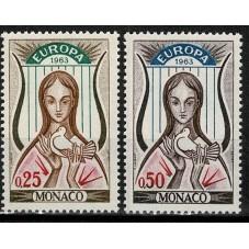 1963 MONACO EUROPA CEPT...
