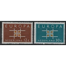 1963 OLANDA EUROPA CEPT...