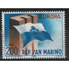 1963 SAN MARINO EUROPA CEPT...