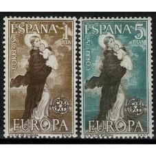 1963 SPAGNA EUROPA CEPT...