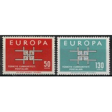 1963 TURCHIA EUROPA CEPT...
