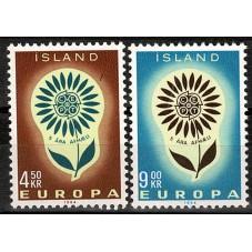 1964 ISLANDA EUROPA CEPT...