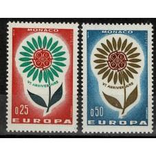 1964 MONACO EUROPA CEPT...