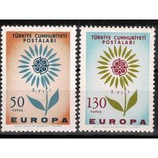 1964 TURCHIA EUROPA CEPT...