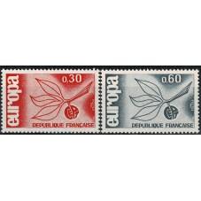 1965 FRANCIA EUROPA CEPT...
