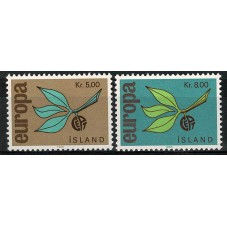 1965 ISLANDA EUROPA CEPT...