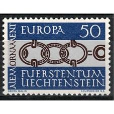 1965 LIECHTENSTEIN EUROPA...