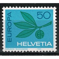 1965 SVIZZERA EUROPA CEPT...