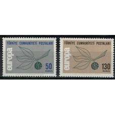 1965 TURCHIA EUROPA CEPT...