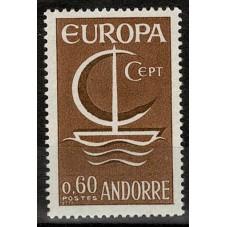 1966 ANDORRA FRANCESE...